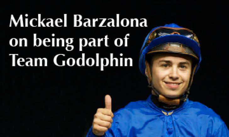 Mickael Barzalona on being part of Team Godolphin
