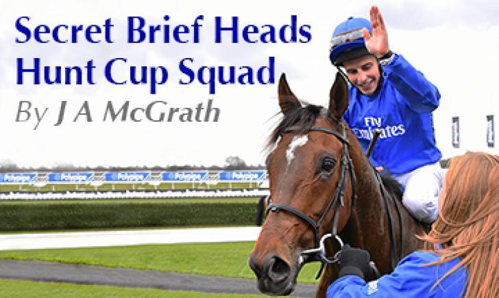 Secret Brief Heads Hunt Cup Squad